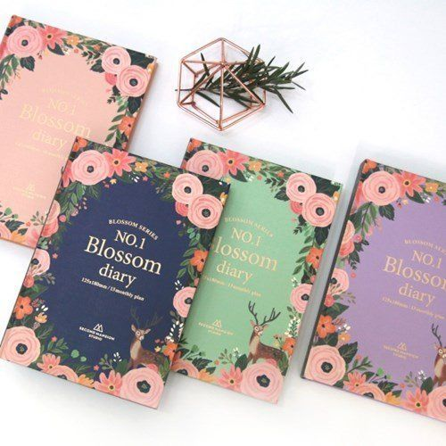 2017 No.1 BLOSSOM DIARY Undated Korean Sticker Journey planner schedule #Fairycloset