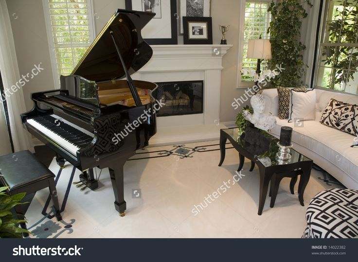 14 best grand piano dream images on pinterest living for Baby grand piano in living room