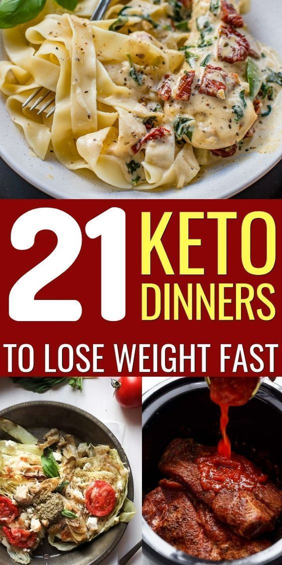 21 Easy Keto Dinner Recipes to Lose Weight