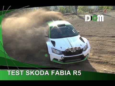 TEST #SKODA #FABIA #R5 | #Tidemand - via @ _D10M_
