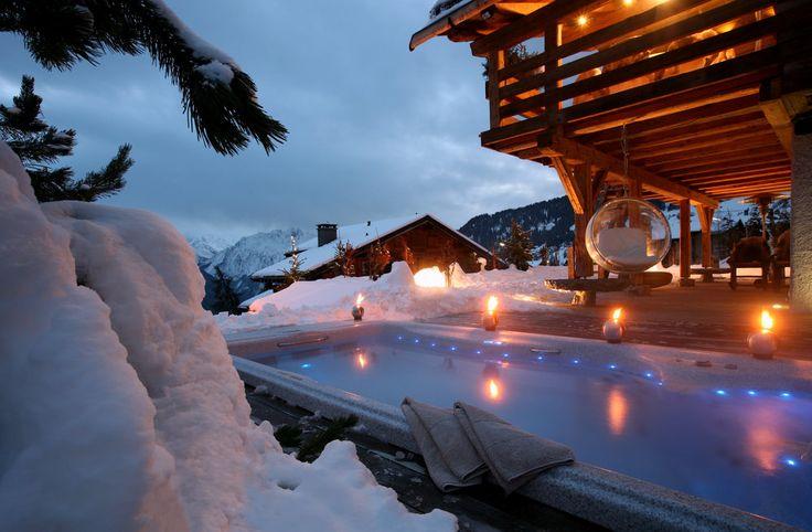 Chalet avec Piscine @ Verbier (Switzerland) by FERT Pure Snow