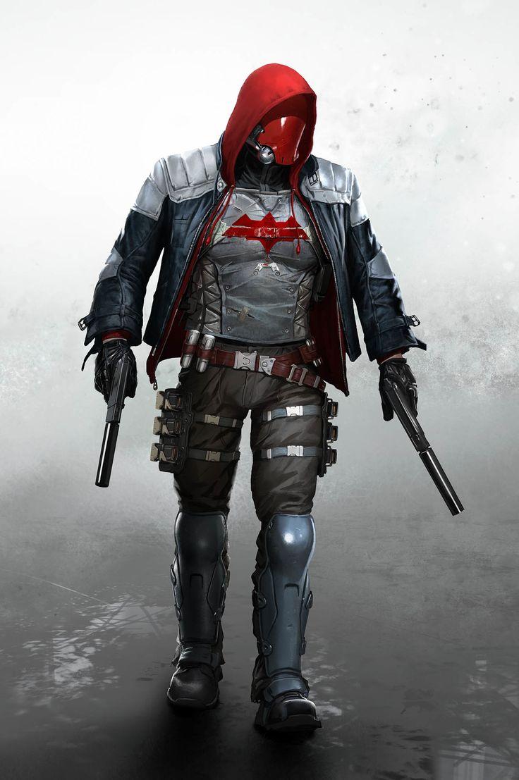 ArtStation - Arkham Knight Red Hood Concept Art, Ville-Valtteri Kinnunen