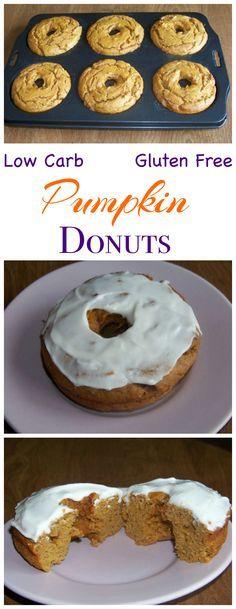Donuts Pumpkin Doughnuts Gluten Free Low Carb