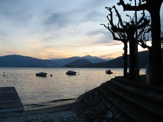Italy, Caldè - Lago Maggiore, from the Sunset Bar