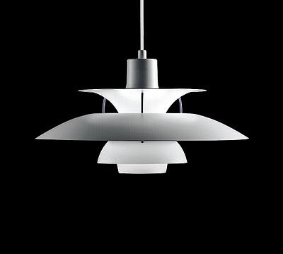 Louis Poulsen PH5 Lamp  Modern Pendant Light designed by Poul Henningsen