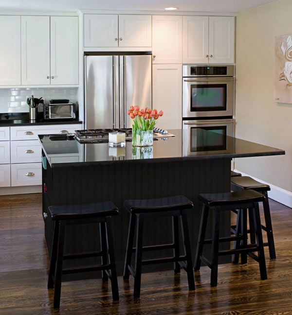 Small White Kitchen Island: 1000+ Ideas About Black Kitchen Island On Pinterest