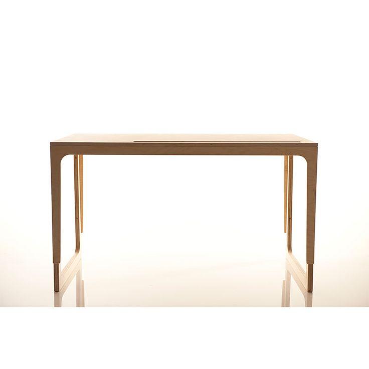 Sirch Sibis Vaclav Schreibtisch höhenverstellbar Filz grau  Höhe: 60 bis 72 cm;  279,-€