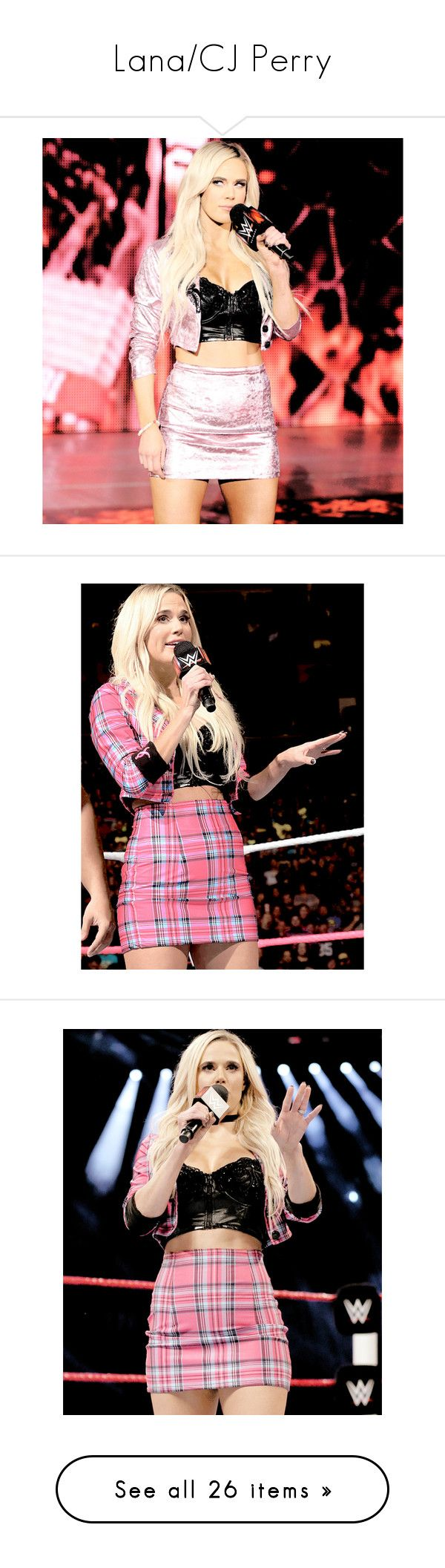 """""""Lana/CJ Perry"""" by amysykes-697 ❤ liked on Polyvore featuring wwe, shoes, pumps, lana and wwe diva"""