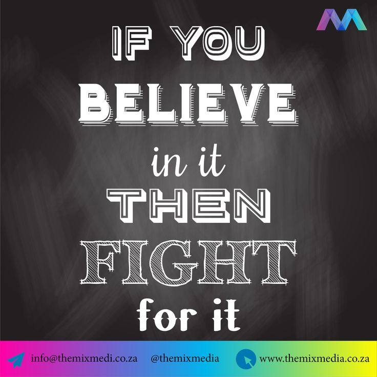 #MotivationMonday #MotivationQuotes Believe in it