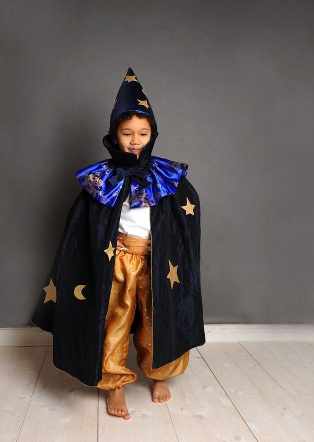 Zauberer Klein 2 5 Jahre Magier Zaubererkostum Kostume Fur