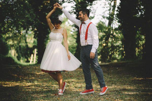 Un matrimonio rockabilly anni '50 http://weddingwonderland.it/2015/05/matrimonio-rockabilly-colorato.html
