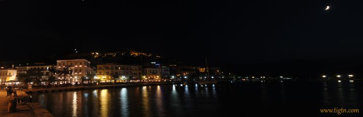 #Nafplio harbor-front  in the #Peloponnese, #Greece