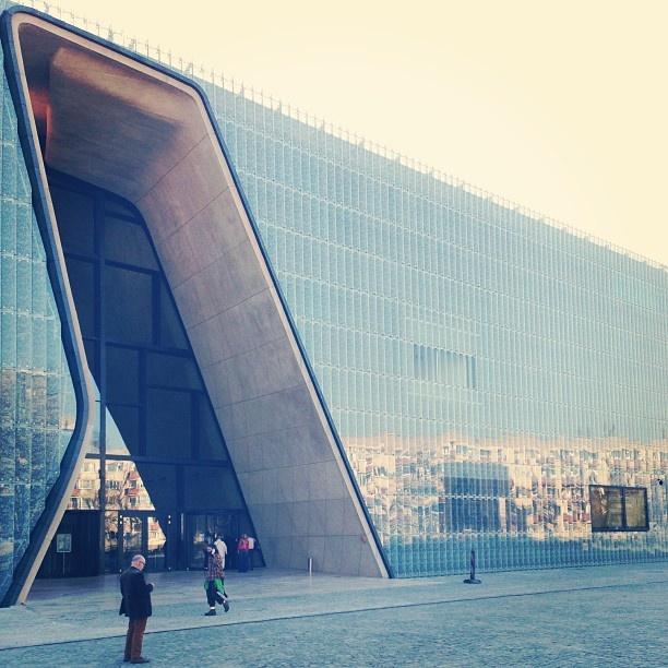 Found on Starpin. Muzeum Histroii Żydów Polskich. #Warsaw, localization: http://starpin.com/place/119897
