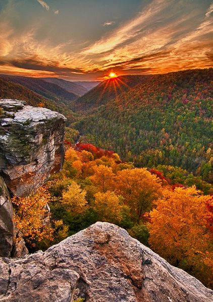 This is, hands down, one of the the best places in America to take in the fall foliage: