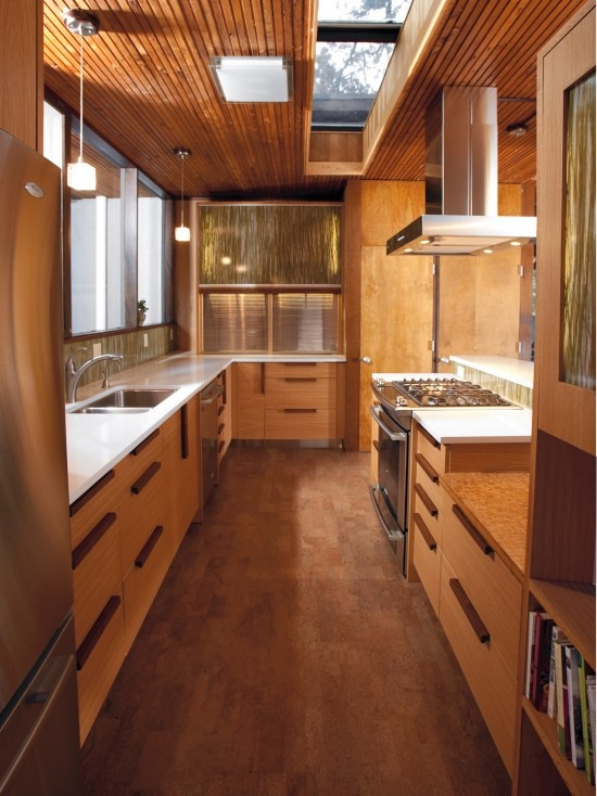 247 best images about wood flooring ideas on pinterest for Kitchen designs cork