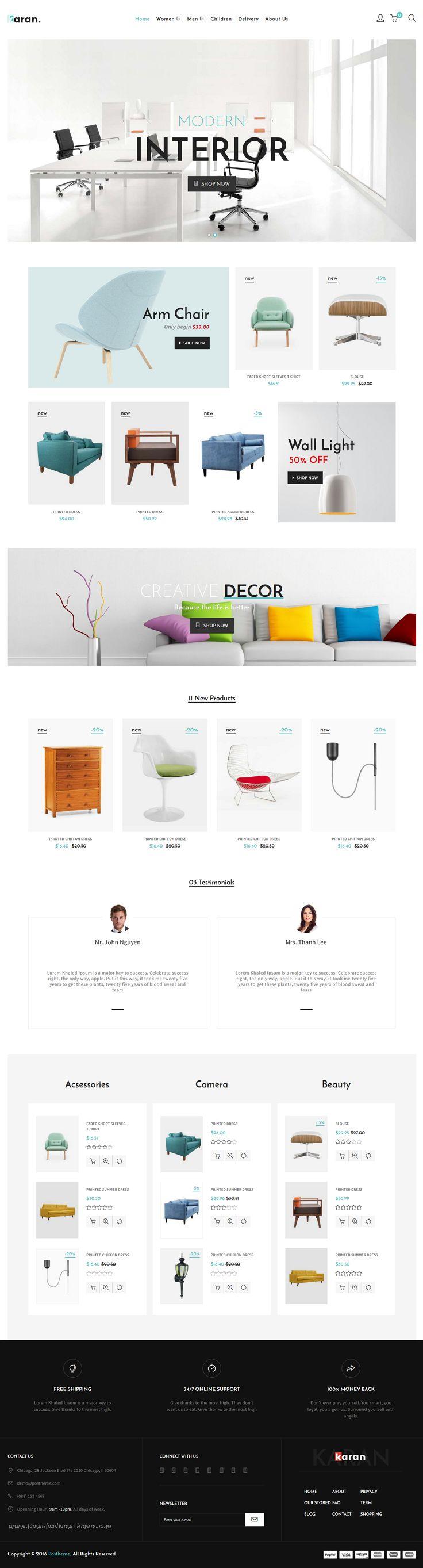 Karan is minimal 8 in 1 #Prestashop Theme for multipurpose fashion and #furniture #shop website download now➝ https://themeforest.net/item/karan-minimal-fashion-prestashop-theme/16823826?ref=Datasata