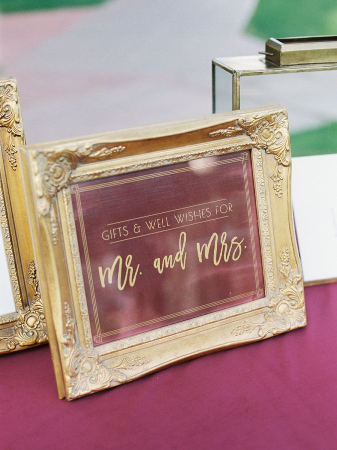 These two knew that they had a classic style. They knew they were traditional. And they knew that that influence would weigh into their wedding day, and with it guiding them, they created an elegant burgundy and gold wedding perfect