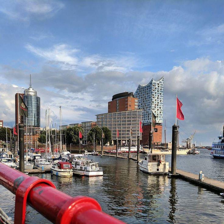In #Hamburg war ich gestern im #hafen unterwegs #elphi