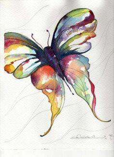 watercolor butterfly