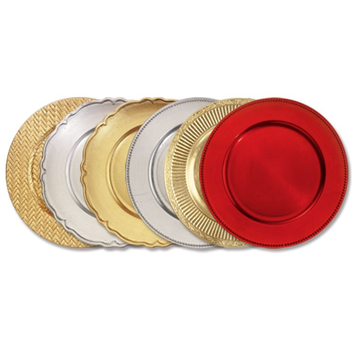 Charger Plates Set your table in style with the help of our elegant charger plates  sc 1 st  Pinterest & 201 best Chargers images on Pinterest | Plate chargers Charger ...