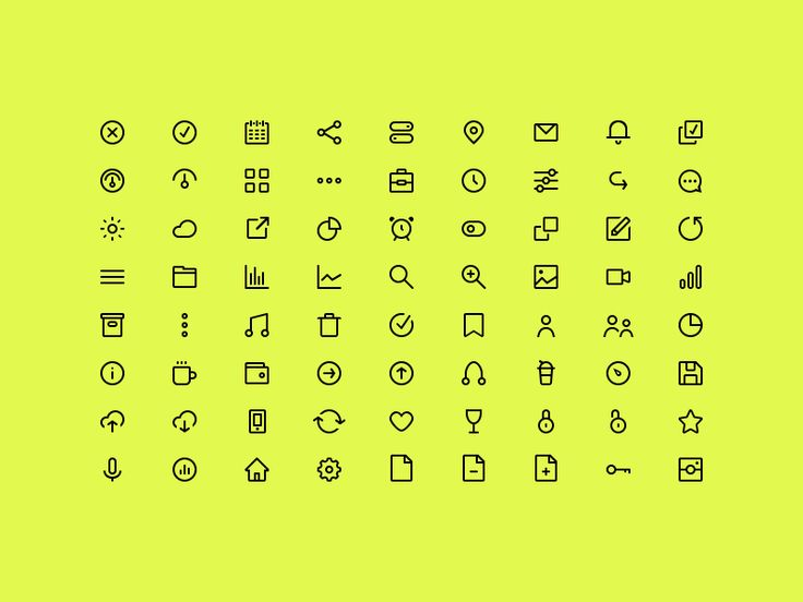 Hey guys,  We'd like to share with you this tiny icons set. Download and use it as you want . Attached in AI, Sketch, PSD, and SVG in the ​archive.  So what do you think?  We are available for new...