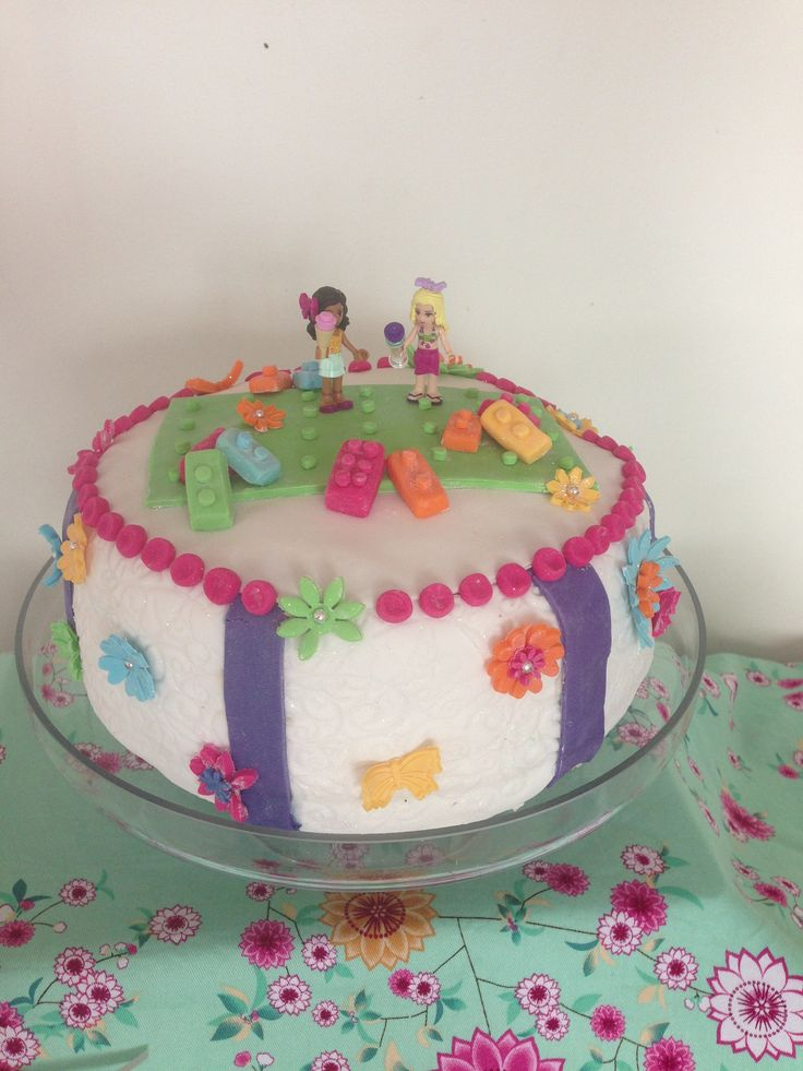Lego Friends Cake Hailey s birthday party Pinterest