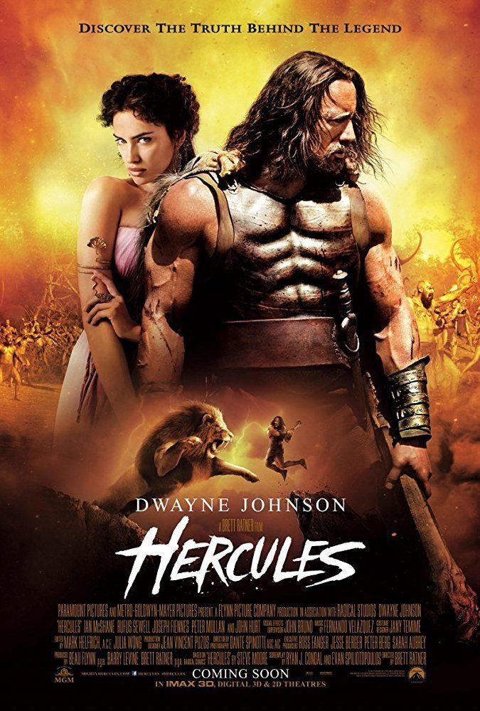 Dwayne Johnson and Irina Shayk in Hercules (2014)