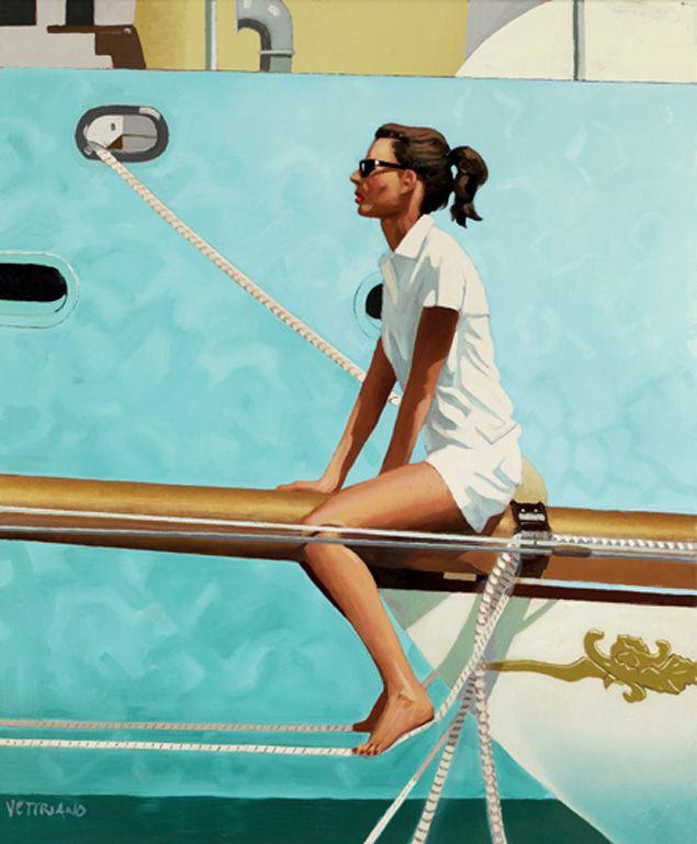 Masthead by Jack Vettriano