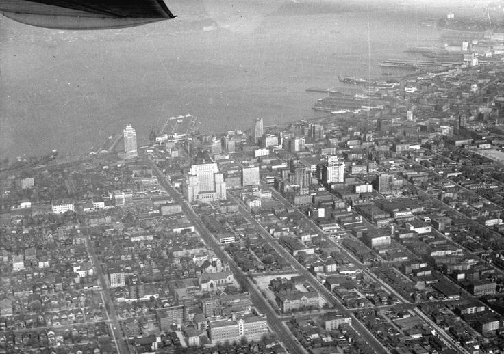 Old Aerial Photo of Vancouver AV-15