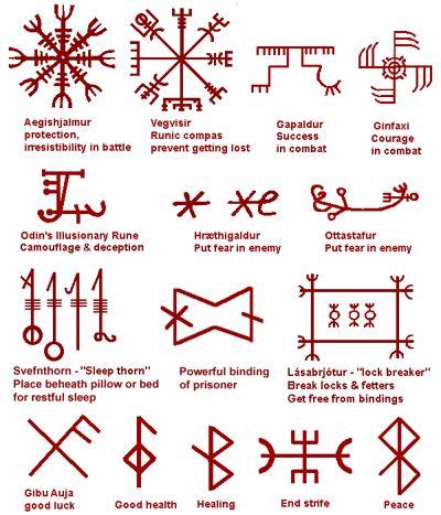 ... Vikings, Rune Tattoos, Alchemy