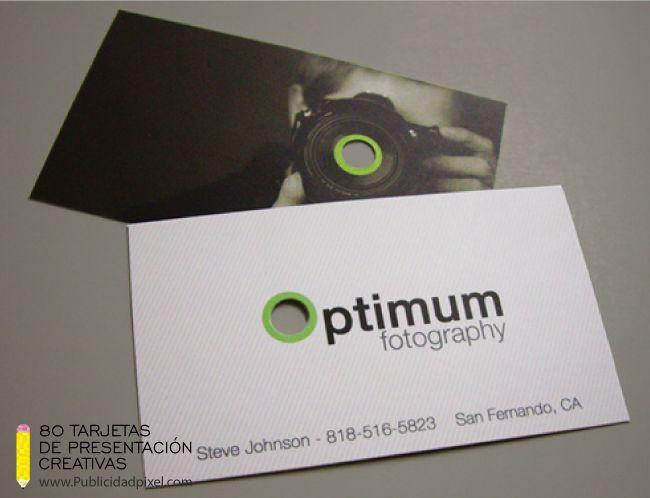 tarjetas de presentacion para fotografos