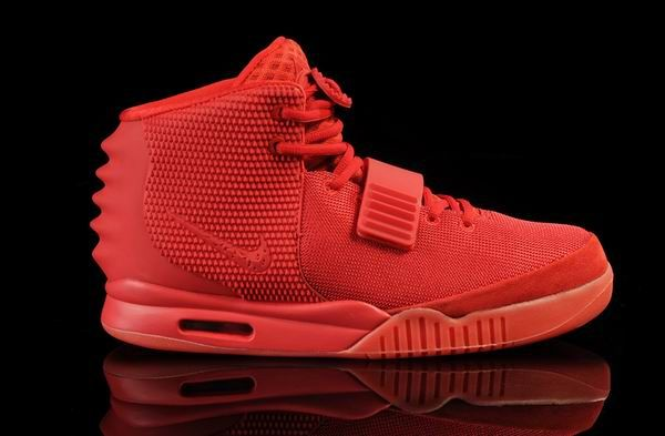 Cheap Mens Whole Red Air Yeezy 2