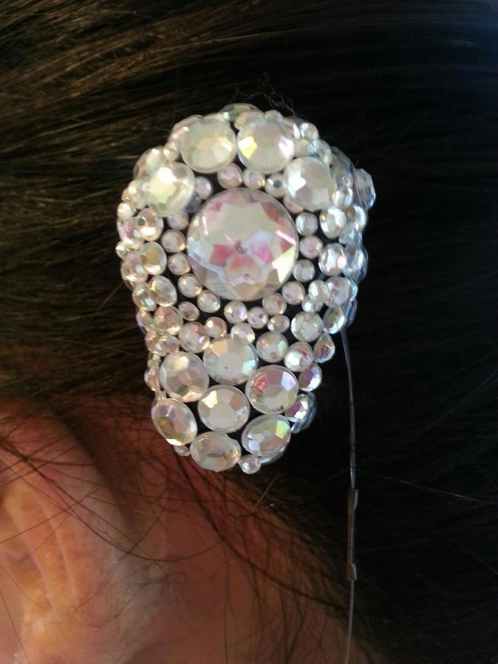 Left Ponto Pro Oticon Medical 2013 Swarovski Crystals Sarah Sabal, age 12
