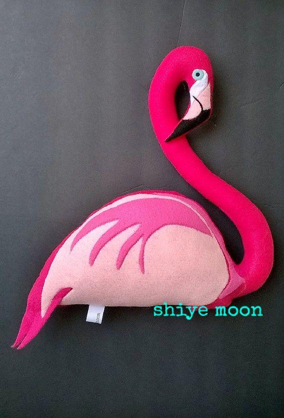 Flamingos/Flamingo Softies/Pink Flamingo/Flamingo Pillows/Flamingo Plushies/Stuffed Animals/Flamingo Decor/Felted Flamingo/Flamingo Toys | Shop this product here: http://spreesy.com/shiyemoon/78 | Shop all of our products at http://spreesy.com/shiyemoon    | Pinterest selling powered by Spreesy.com