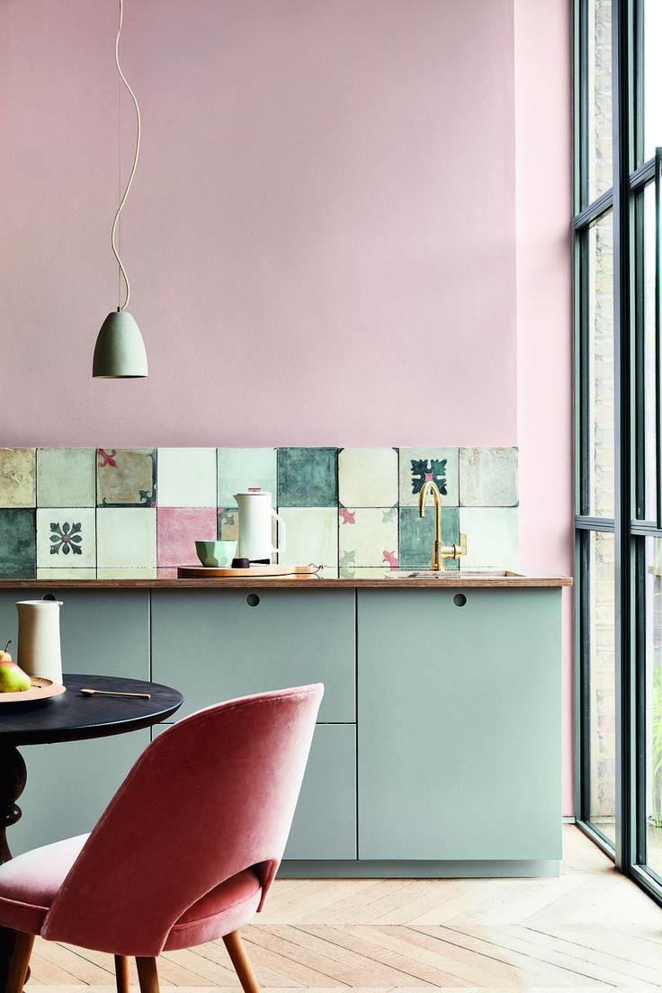 7 Mutige Farbidee in der Küchen   Haus Deko Ideen…