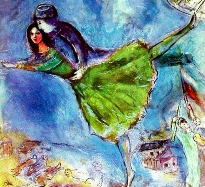 25+ best ideas about Chagall paintings on Pinterest | Marc chagall ...