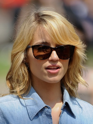 dianna agron hair hartruse - photo #45