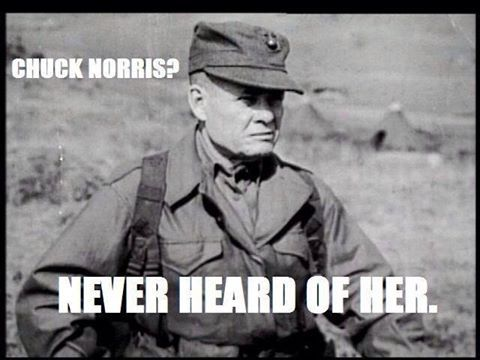 I see your General Mattis and raise you Chesty Puller : USMC