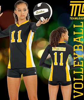 Experience the TeamLeader Difference with Volleyball Uniforms and Practice Wear that are MADE IN THE USA!