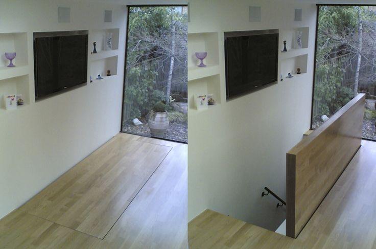 Elegant Basement Trap Doors