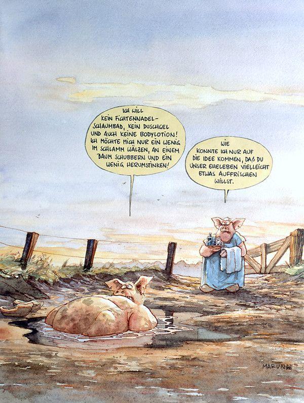 Eheleben - MARUNDE | Cartoons & Illustrationen von Wolf-Rüdiger Marunde