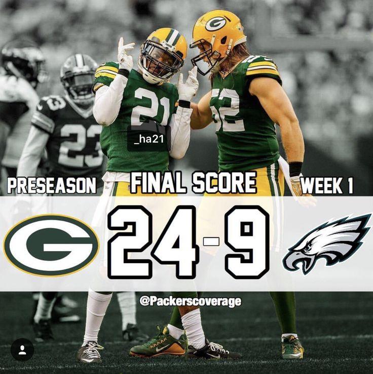 Week 11 Giants Vs Packers: Packers Vs Eagles/ Preseason 2017