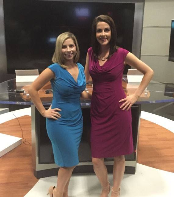 Meteorologist Mary Mays And Anchor Michelle Kingston Rock