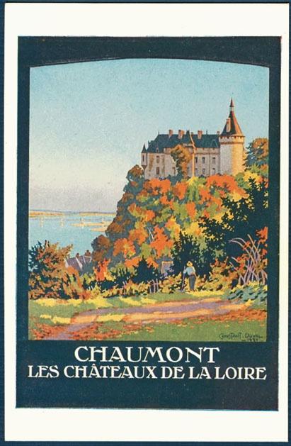 Constant Duval: Chaumont, Les Chateaux de la Loire
