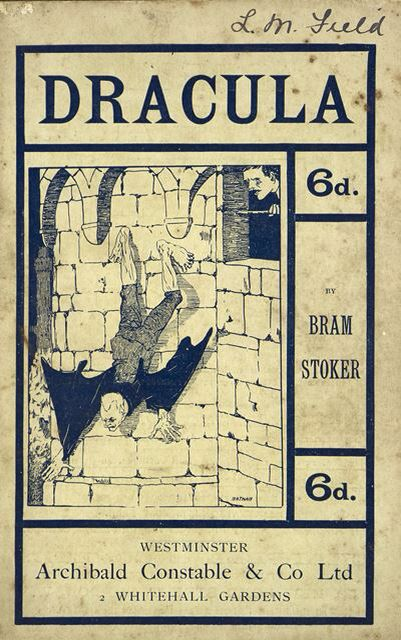 Dracula by Bram Stoker, illustrated by Nathan, it's the first illustrated edition. Published by Archibald Constable & Co. Ltd, London, 1901