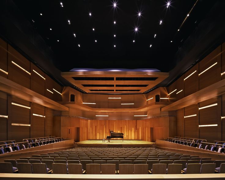 Manon Caine Russell - Kathryn Caine Wanlass Performance Hall at Utah State University is a world-class performance hall featuring an exceptionally high-quality acoustical design. Its intimate scale is ideal for small acoustical performances such as chamber music, vocal and instrumental concerts. Located at 2970 Old Main Hill just west of the Kent Concert Hall, USU Campus, Logan (435) 797-8022. | aiasf.org