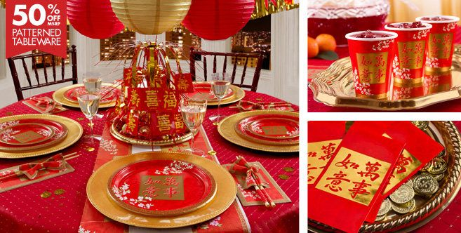 2013 chinese new year party supplies chinese new year - Chinese dinner party ideas ...
