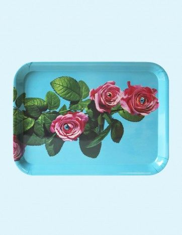 TRAY SUBJECT ROSES