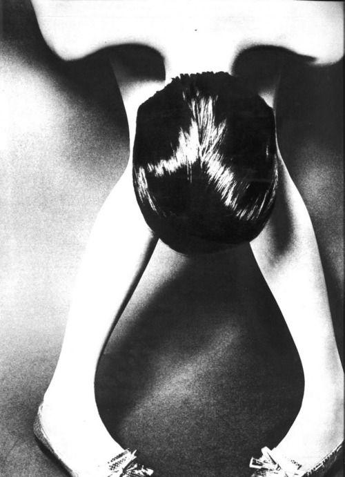 Photo by Guy Bourdin for Vogue Paris, 1966.