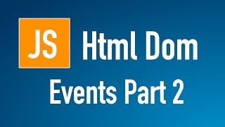 Learn JS HTML Dom In Arabic #35 - Events - Onfocus OnBlur OnSubmit http://ift.tt/2DiAOgH كورس JavaScript HTML DOM  اسامة الزيرو